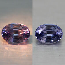 0.91cts WOW!100% NATURAL UNHEAT GEMSTONE GORGEOUS COLOR CHANGE SAPPHIRE