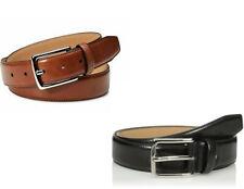 Dockers 11DK010008 Men's Genuine Leather Feather Edge Dress Belt