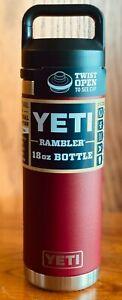 BRAND NEW YETI Rambler 18 oz Vacuum Insulated Bottle ~ Choose Color