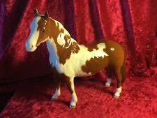 BESWICK HORSE PINTO PONY SECOND VERSION SKEWBALD BROW/WHITE GLOSS NO1373