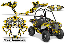 POLARIS SPORTSMAN ACE 2014-2016 CREATORX GRAPHICS KIT DECALS BOLT THROWER YELLOW