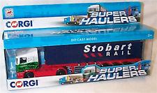 Corgi Eddie Stobart Rail Skeletal Container Truck Ty86650 New in Box
