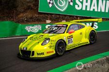 "Porsche 911 gt3 R ""Mathey Racing #911"" 12 h BATHURST 2018 IN 1:18 sur mesure"