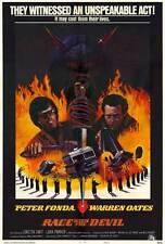 RACE WITH THE DEVIL Movie POSTER 27x40 Peter Fonda Warren Oates Loretta Swit