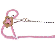 New Popular Adventure Land Hamster Gerbil Pet Cage Playhouse Leashes Pink