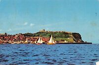 BR66101 yachting at  scarborough  ship bateaux  uk  14x9cm