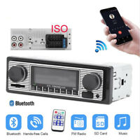 Car In-Dash Radio Player Wireless Bluetooth Stereo MP3 Audio Player 1DIN USB SD