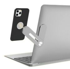 Magnetic Adjustable Extension Phone Holder Stand for a Laptop