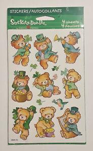 Bears St Patricks Day Shamrock Stickers Stickety-Doo-Da Rewards Decorate New