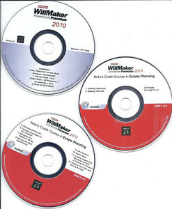 Quicken WillMaker Premium 2010 - 3 CDs