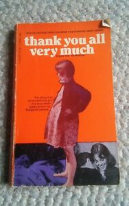Thank You All Very Much PB Margaet Drabble Signet 1969 Book