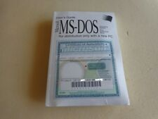 Genuine: Microsoft MS-DOS 6.22 Full Version with 3.5 disks & COA New Sealed!