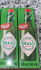Tabasco Green Pepper Sauce (**2 Pk of 5oz bottles **)