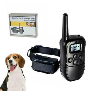 330 Yard Dog Shock Collar With Remote Waterproof Electric For Large Pet Training