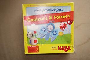 HABA - MES PREMIERS JEUX DE COULEURS ET FORMES