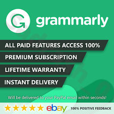 Grammarly 🌟 Premium Lifetime 🌟 Account [Fast-Delivery] 100% Guaranteed