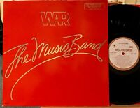 WAR The Music Band PROMO Vinyl LP MCA-3085 Near Mint - Good, Good Feelin' 1979