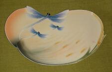 Franz Dragonfly Plate designed by Jen Woo, FZ00051 - NIB