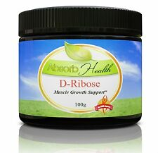 D-Ribose Powder 100g Increase Energy and Endurance Enhance ATP Production