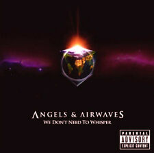 ANGELS & AIRWAVES WE DON'T NEED TO WHISPER CD Album MINT/EX/MINT (EXPLICIT) *
