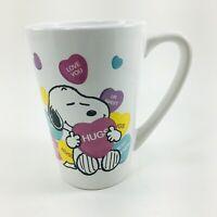 Peanuts Worldwide Coffee Mug SNOOPY Candy Hearts Love You Hugs Best Friends Cup