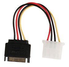 Cavo interno adattatore di alimentazione SATA 15-pin maschio - Molex femmina 0,1