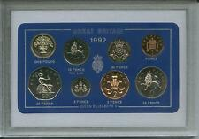 1992 Vintage Coin Set 25th Birthday Birth Year Present Wedding Anniversary Gift