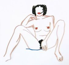 "TOM WESSELMANN ""MONICA SITTING WITH LEGS SPREAD"" 