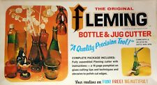 Vintage Original Fleming Glass Bottle and Jug Cutter Kit