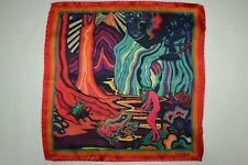Paul Smith Mens Dreamer Silk Pocket Square Brand New