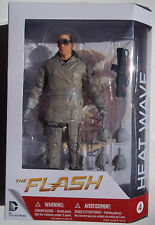 DC THE FLASH. HEAT WAVE ACTION FIGURE 7 INCHES. NEW IN BOX. CW TELEVISION SHOW