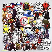 Mixed Star Wars Skateboard Stickers 5 10 25 Random Laptop Decal Phone Jedi Sith