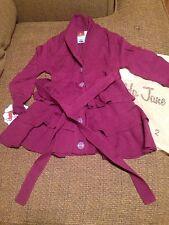 NWT Matilda Jane HeartSoulPride Berry Grapejuice Sweater Cardigan 2 Girls Willow