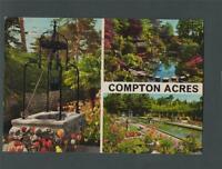 Compton Acres. Poole. Dorset. 1978  multiview franked postcard q256