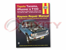 Haynes Toyota Tacoma 95-04 4Runner 96-02 T100 93-98 Repair Manual 92076 Shop tk