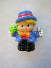 Fisher Price Little People EDDIE CIRCUS RINGMASTER Ring Master w/ Microphone