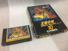 Casio Konami MSX KING'S VALLEY MSX MSX2 Box Cartridge