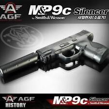 MP9C Silencer Pistol Airsoft Handgun 6mm BB Toy Gun Kids Children Military