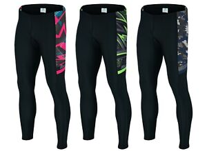 Mens Cycling Padded Tights Trousers Bicycle Compression Pant ANTI-BAC Pads Sikma