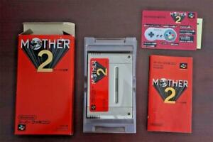 Super Famicom Mother 2 (EarthBound) boxed Japan SFC game US Seller