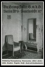 Reklame 1942 Die Heimgestalter GmbH Berlin Raumgestaltung Innenausbau Möbel ...