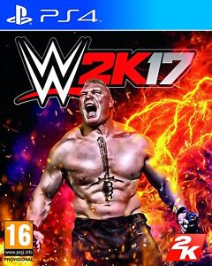 WWE 2K17 (PS4) - PRISTINE & IMMACULATE - Super FAST & Quick Delivery FREE.
