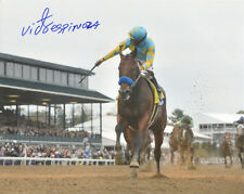 American Pharoah 2015 Breeders' Cup Classic #2 Photo 8x10 Signed Victor Espinoza