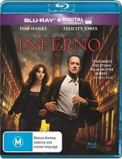 Inferno Blu Ray New Region B, Tom Hanks