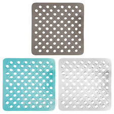 BATH SHOWER MAT NON SLIP PVC BATHROOM RUBBER MATS  ANTI SLIP SUCTION 43 x 43 cm