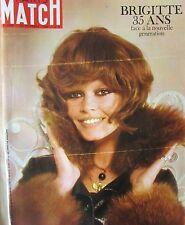 PARIS MATCH N° 1068 de 1969  BARDOT RAQUEL WELSH SOYOUZ COSMONAUTES ROLLS ROYCE