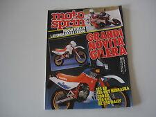 MOTOSPRINT 47/1986 LAVERDA GS 125 LESMO/BMW HPN R 80 G/S 1000/MALAGUTI FIFTY TOP