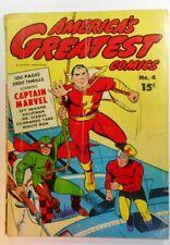 AMERICA'S GREATEST COMICS #4 GD 2.0 (FAWCETT 1941 SERIES)