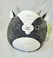 """Squishmallows 12"""" Gregory billy goat gray grey plush animal squishmallow pillow"""