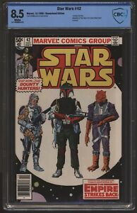 Star Wars #42 December 1980 CBCS 8.5 like CGC. 1st App Boba Fett. Empire Strikes